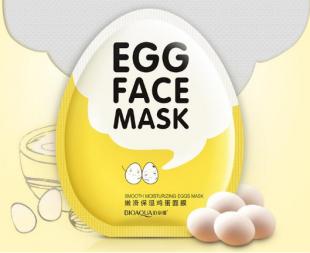 Яичная маска «BIOAQUA» для лица.(2538)