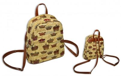 П Рюкзак Короны- гобеленовый рюкзак