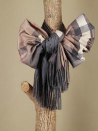 Палантин (платок) SHARF BURB CAMEL GRIGIO COL 3