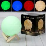 Настольная 3D лампа Луна