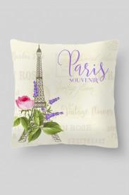 Чехол-наволочка Парижский сувенир