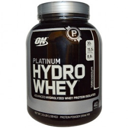 Optimum Nutrition, Platinum Hydro Whey (1.59кг) Chocolate