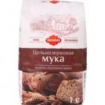 «Яшкино», мука пшеничная цельнозерновая, 1 кг