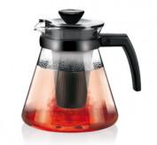 Стеклянный чайник TEO 1,25 л, с ситечками для заваривания