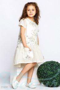 Детское асимметричное платье