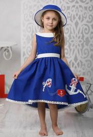 """Платье для девочки """"Вояж"""""""