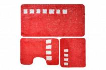 Roma Коврик 60*100 3 пр. (красный) акрил