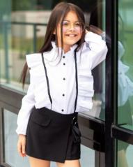 """Школьная блуза для девочки """"SH-70"""" (рост 146 см)"""