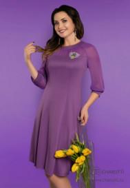 Платье Двойное превосходство (лаванда)