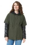 """Куртка """"Деми"""" хаки, состоит из: утепленной куртки и ветровки"""