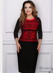 Платье Стильная (роскошный ред)