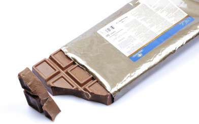 Молочный шоколад Ariba Latte Pani, плитка 1 кг