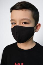 Детская декоративная маска черная