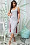 Платье на кнопках по бокам - 22194