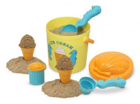 Sunny Patch Speck Seahorse Sand Ice Cream Play Set
