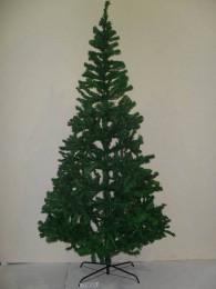 Ёлка новогодняя темно-зеленая 240 см, 1100 веток