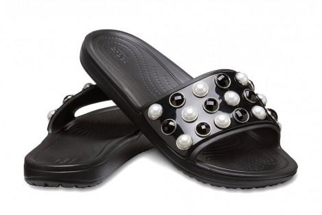 CrocsSloane Timeless Pearl SldBlack