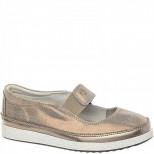 288007/01-04 бронза Туфли для девочек (30-35)