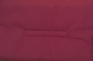 Комплект подушек, вишнёвый