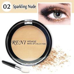 02 Тени для век Искристый беж – Sparkling nude