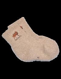 Носки детские из верблюжьей шерсти (светлые)