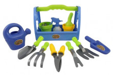 Little Garden Tool Box 14pc Toy Gardening Tools Set for Kid