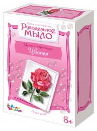Набор для изготовления мыла «Алая роза»
