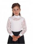 ХИТ ПРОДАЖ! Школьная блузка ЕТ005-1, 3 цвета