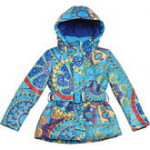 Стильная весенняя куртка KIKO для девочки FELICITA (песок)