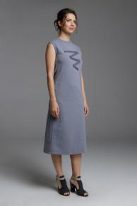 платье трикотажное Plaxa