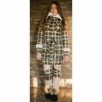 Женский термо костюм Airos, пальто с искусственным мутоном