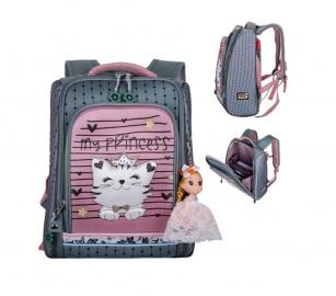 Школьный ранец Across Sweet Kitten ACR19-HK-08