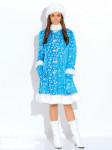 Карнавальный костюм Снегурочка плюш (д/взр)