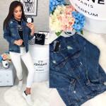Стильная джинсовая куртка женская 1039-884