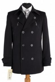 Пальто мужское утепленное (Рост 176) Кашемир