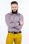 Рубашка мужская приталенная SVYATNYH