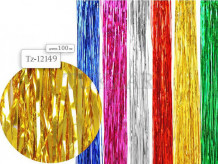 Дождик металлик 1 метр (упаковка 10 шт)