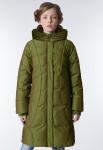 """Пальто """"Альба"""" зеленое"""