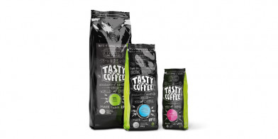 Tasty coffee Верона, 100% арабика (темная обжарка), 250 гр