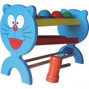 Стучалка-шарики «Кот» 14*22*10