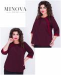 Блуза №406-Марсала