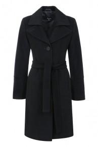 Пальто с классическим английским воротником