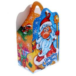 """Коробка складная """"Дед Мороз"""""""
