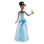 Tiana Classic Doll with Naveen as Frog Figure - 12''