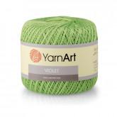 Пряжа YarnArt Violet Мерсеризованный хлопок-100%