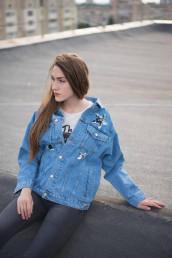 Женская джинсовая куртка Мом 02-015