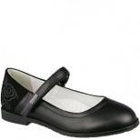 32-420A черн Туфли для девочек (31-36)
