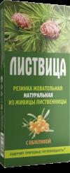 """Жевательная резинка""""Листвица"""" с облепихой 4 шт по 0,8 гр"""