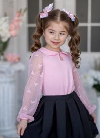 Блузка С*ильвия розовая