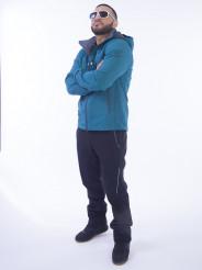 Куртка Windstopper Snow Headquarter, А-8571, Бирюзовый